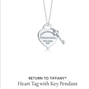 Tiffany co accessories new tiffany co heart tag with key accessories new tiffany co heart tag with key pendant aloadofball Image collections